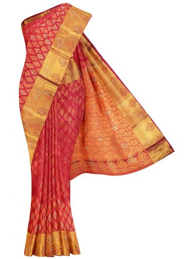 MEB6462504-Vivaha Wedding Stone work Silk Saree
