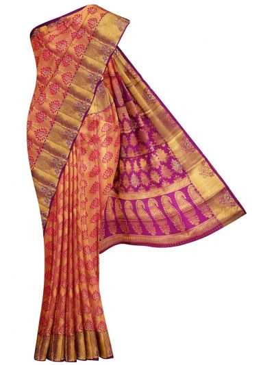 MEB6462521-Vivaha Wedding Stone work Silk Saree