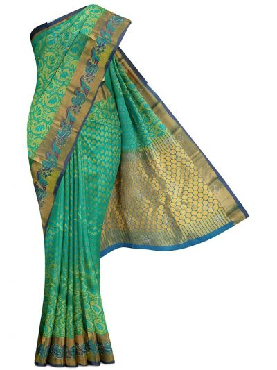 Vivaha Traditional Stone Work Silk Sareee - MEC7237370