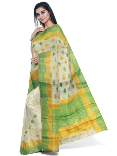 Kathana Fancy Raw Silk Zari Weaving Saree - MFB2406991