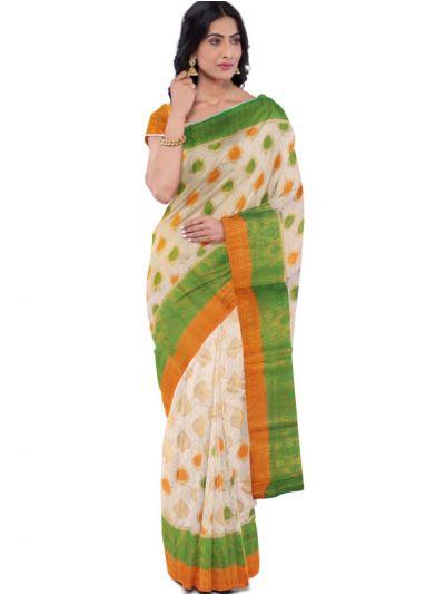 Kathana Fancy Raw Silk Zari Weaving Saree - MFB2406995