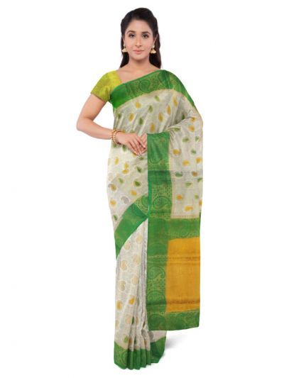 Kathana Fancy Raw Silk Zari Weaving  Saree - MFB2406944