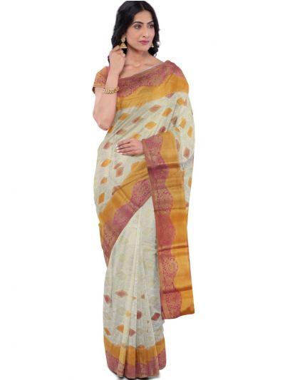 Kathana Fancy Raw Silk Zari Weaving Saree - MFB2406989
