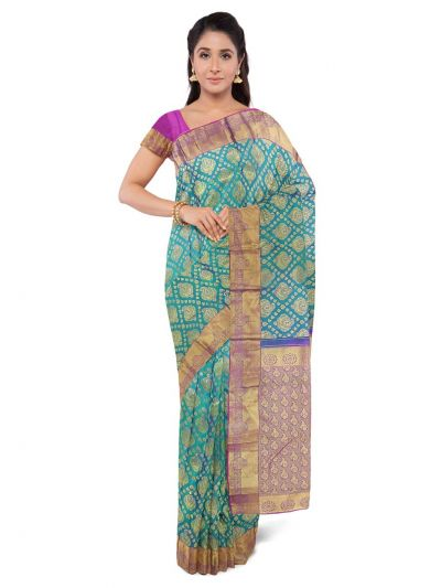 Vivaha Stone work Silk Saree-MED8799862
