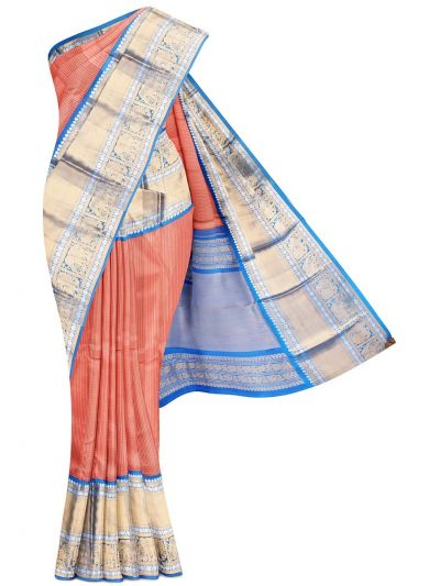 Wedding Pure Organza Silk Saree - MFA0151864