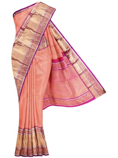 Wedding Pure Organza Silk Saree - MFA0151876