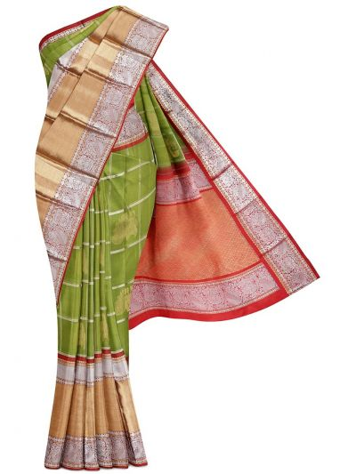 Wedding Pure Organza Silk Saree - MFA0151878