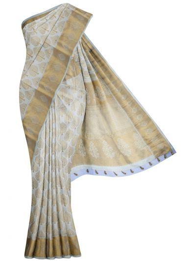 MFA0276682-Vivaha Wedding Silk Saree with Stone Work Blouse