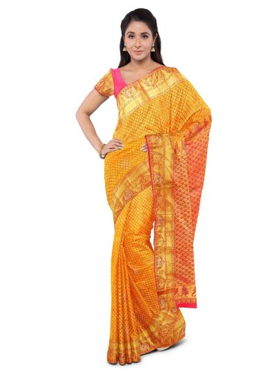 Bairavi Traditional Stone Work Silk Saree - MFA0318759