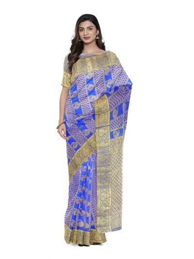Bairavi Traditional Stone Work Silk Saree - MFA0318762