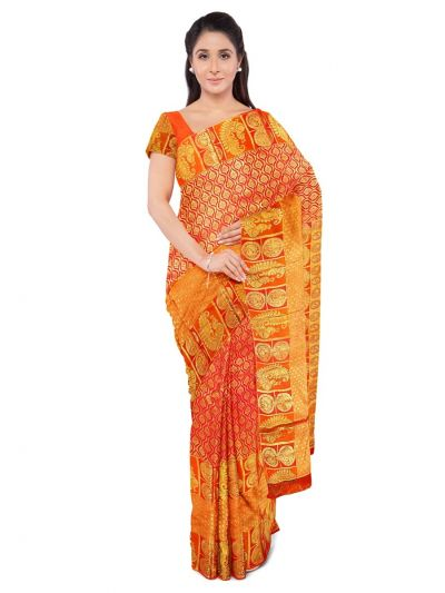 Bairavi Traditional Stone Work Silk Saree - MFA0318769