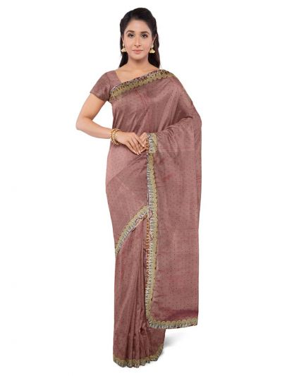 Kathana Exclusive Chiffon Saree With Ready Made Blouse  - MFA0579120