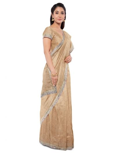 Kathana Exclusive Chiffon Saree With Ready Made Blouse - MFA0579126