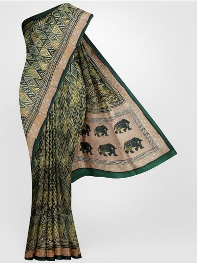 MFA9551244-Dupion Printed design Work Silk Saree