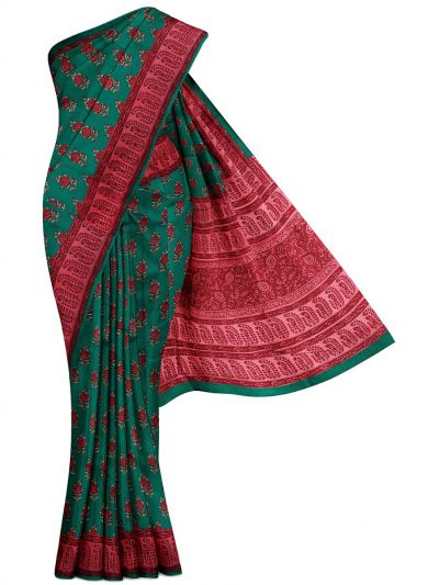 MFA9551251 - Duipon  Printed Silk Saree
