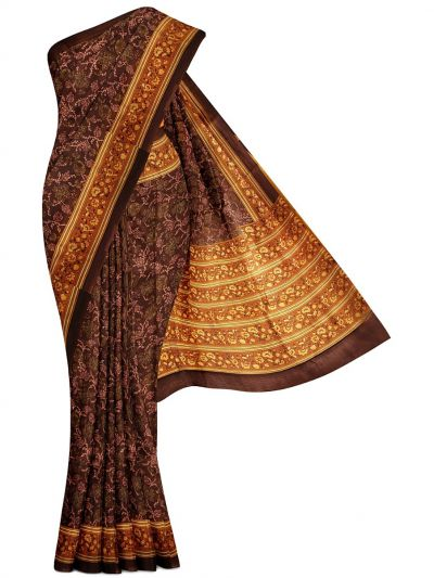 MFA9551252-Dupion Printed Silk Saree