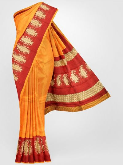 MFA9551258-Dupion Printed design Work Silk Saree
