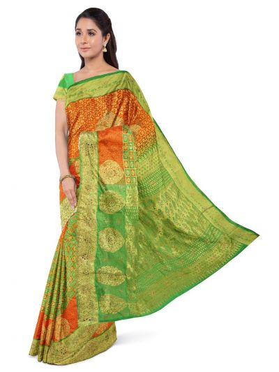 MFA9554275 - Vivaha Stonework Silk Saree