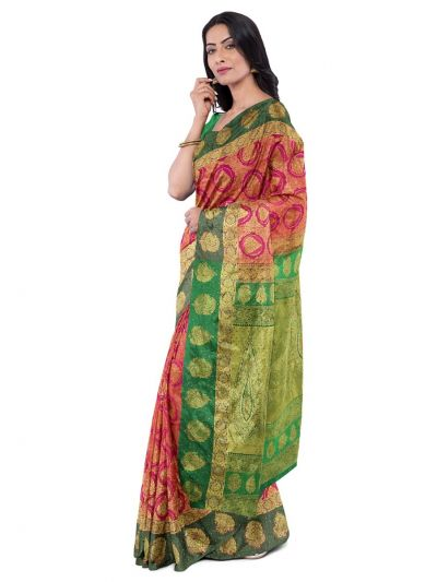 Vivaha Wedding Silk Saree With Stone Work Design - MFA9554276
