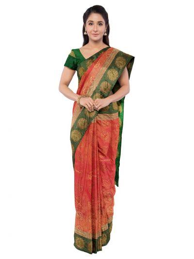 Vivaha Wedding Silk Saree With Stone Work Design - MFA9554280