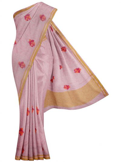 MFA9747631 - Branded Synthetic Embroidery Saree