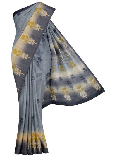 MFA9747651 - Fancy Printed Tussar Saree