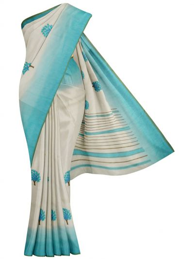 MFA9747655 - Branded Synthetic Embroidery Saree
