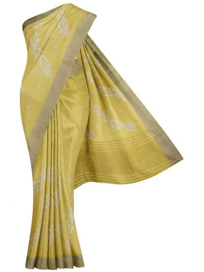 MFA9756001 - Fancy Semi Jute Embroidery Saree
