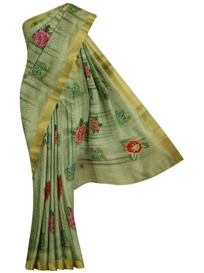 MFA9756027 - Fancy Jute Embroiery Saree