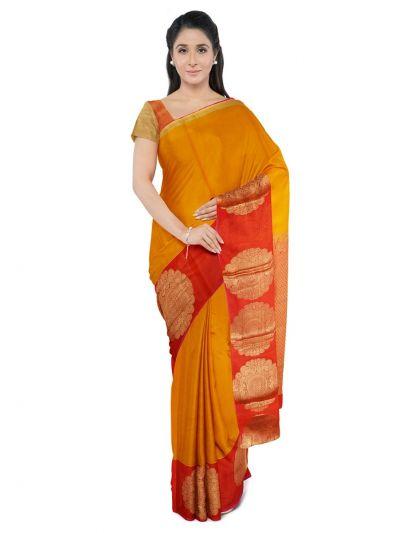 Chamelli Exclusive Silk Cotton Saree-MFB1295567