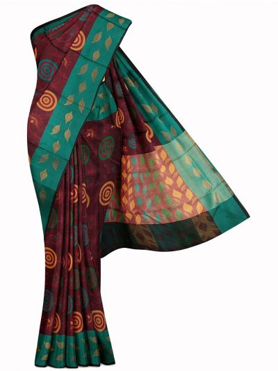 Kathana Exclusive Thanjai Cotton Weaving Saree - MFB2193589