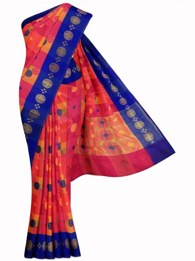 Kathana Exclusive Thanjai Cotton Weaving Saree - MFB2193592