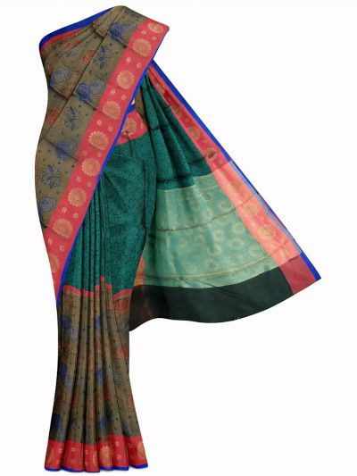 Kathana Exclusive Thanjai Cotton Weaving Saree - MFB2193639