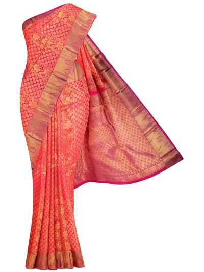 Vivaha Exclusive Wedding Silk Saree - MFB3444939