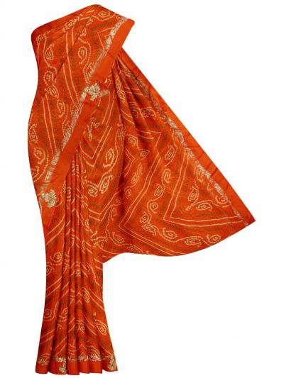 MFB4610912 - Fancy Printed Georgette Saree
