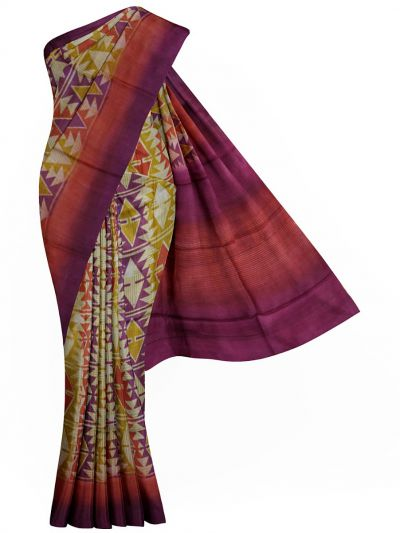MFB5399829 - Pure Tussar Silk Saree