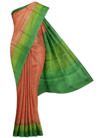 MFB5399847-Fancy Munga Tussar Print Design Saree