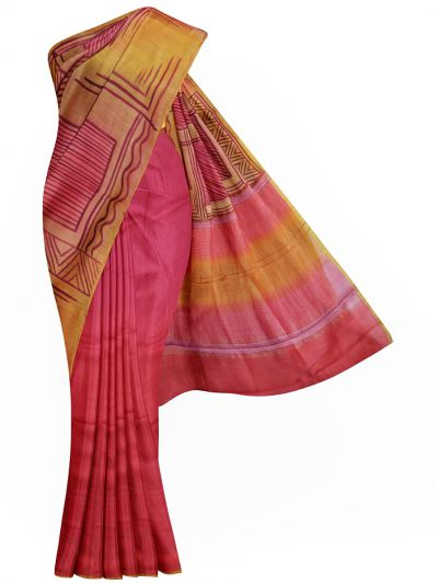 MFB5721277 - Pure Tussar Silk Saree