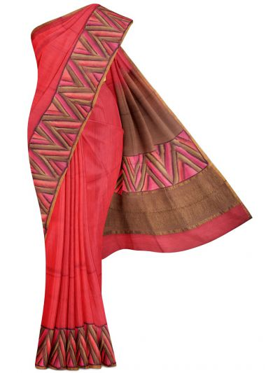 Kyathi Exclusive Munga Tussar Silk Saree - MFB5721279