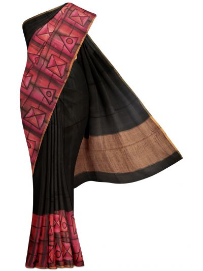 Kyathi Exclusive Munga Tussar Silk Saree - MFB5721281