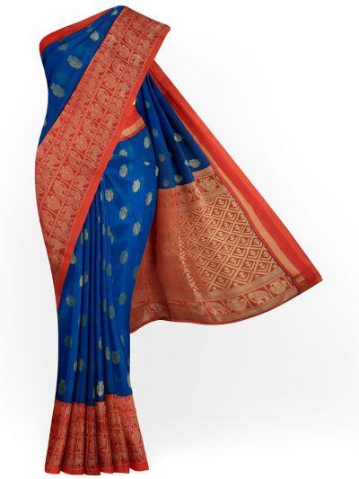 Chamelli Silk Cotton Saree - MFB5855238
