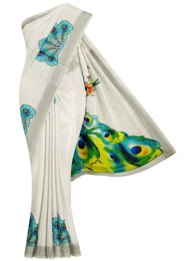 MFB6049495 - Fancy Jute Printed Saree