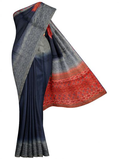 MFB6200991 - Fancy Semi Jute Embroidery Saree