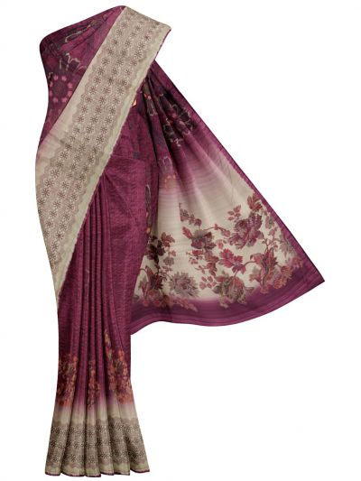 MFB6200994 - Fancy Jute Printed Saree