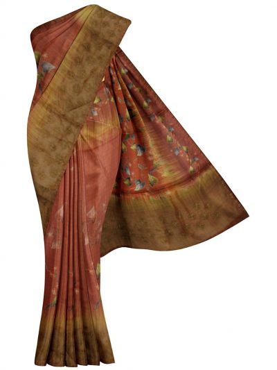 MFB6200995 - Fancy Jute Embroidery Saree