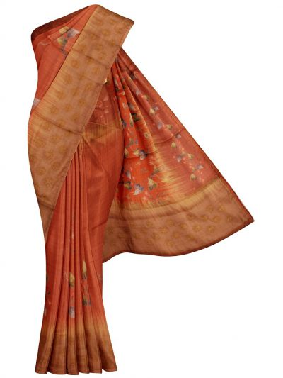 MFB6201014 - Fancy Jute Embroidery Saree