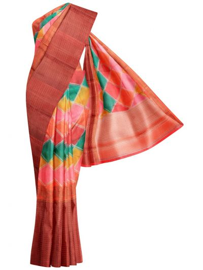 Sahithyam Exclusive Chiniya Soft Silk Saree - MFB6601245