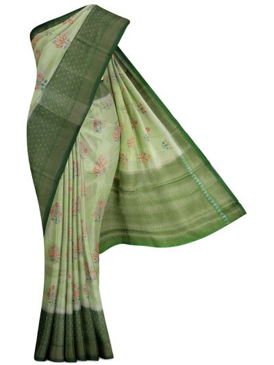 Sahithyam Exclusive Chiniya Soft Silk Saree - MFB6601252