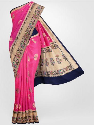 MFB6601255-Banarasi Dupion Silk Saree