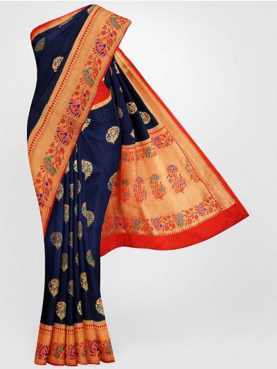 MFB6601260-Banarasi Dupion Silk Saree